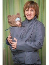 Купить Слинго-куртка (Серая) в Интернет-магазин Василинка
