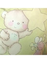Наволочка на подушку для беременных «Звездочёты зелёные»