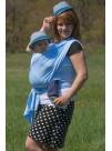 Купить Слинг Шарф Мороженное голубой в Интернет-магазин Василинка