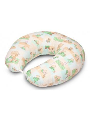 Подушка для кормления большого размера «Весенние мишки»