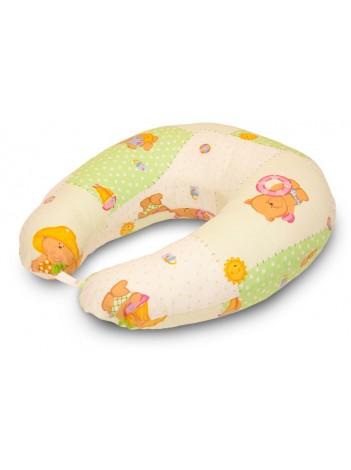 Подушка для кормления основного размера «Мишки на отдыхе»