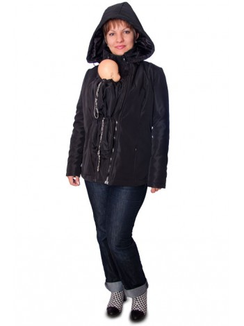 Слинго-куртка (Черная)