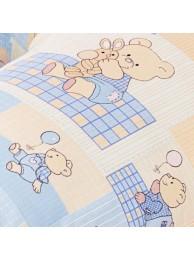 Купить Сменная наволочка большого размера – «Небесные мишки» в Интернет-магазин Василинка