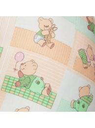 Смотреть Сменная наволочка большого размера – «Весенние мишки» в Интернет-магазин Василинка