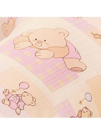 Выбрать Сменная наволочка основного размера – «Розовые мишки» в Интернет-магазин Василинка