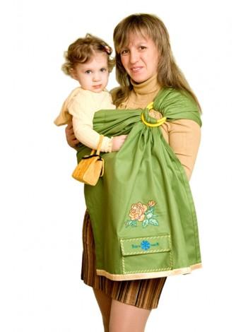 Купить Слинг с кольцами Осеннее настроение в Интернет-магазин Василинка